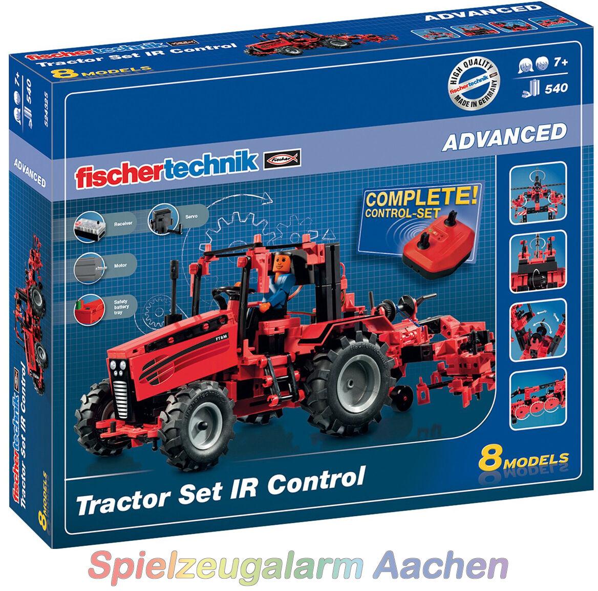 Fischertechnik ADVANCED 524325 Tractor Set IR Control 8 Modelle IR-Fernsteuerung  | Ausgang