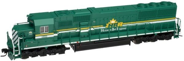 ATLAS 1/160 N Scale SD50 Hudson Bay Engine w/DCC Road   5005 Item   52704 F/S