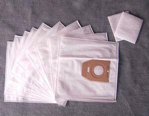 Sacchetto per la polvere 2 filtri per Menalux 3101 10 Sacchetto per aspirapolvere Filtro Sacchetti