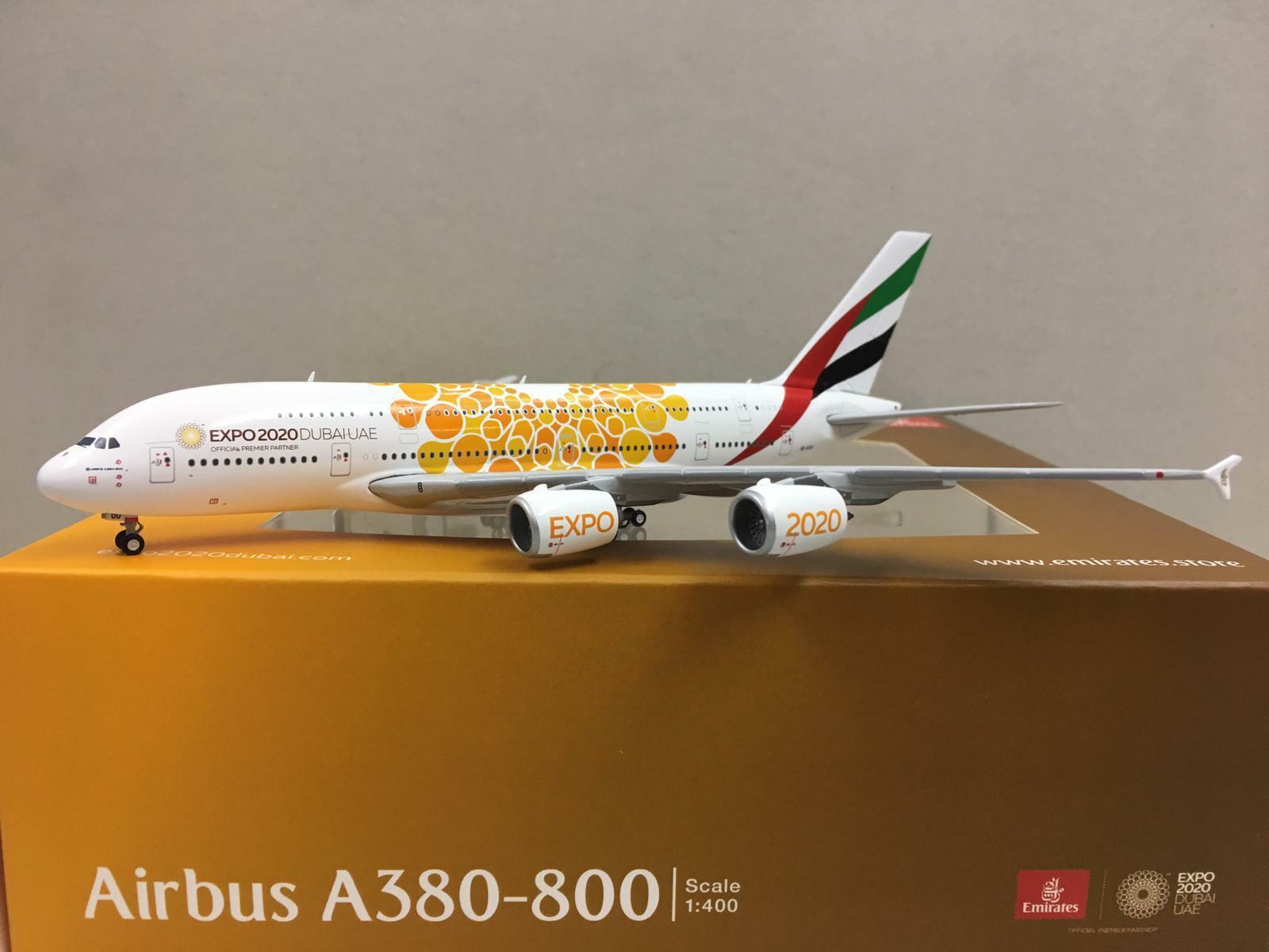 negozio outlet Gemini Jets 1 400 400 400 Emirates EXPO2020 AIRautobus A380-800 A6-EOU GJUAE1815  risparmia il 60% di sconto e la spedizione veloce in tutto il mondo