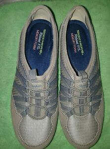 skechers relaxed fit grey