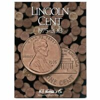 Lincoln Cents Folder 1975-2013 By H.e Harris, (hardcover), H.e Harris , New, Fre
