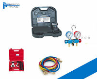 Hvac Manifold Gauges , Charging Scale, Flaring And Vacuuming Tool Kit Package