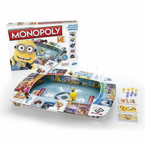 Despicable Me Minions Monopoly Family Board Game Hasbro Travel Kids