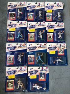 1988 Starting Lineup Major League Baseball Figures Dodgers Cubs Phillies Kenner