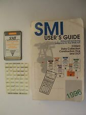 SMI 48 DOT Data Collection & Construction Five, Manual + Overlay for HP 48GX