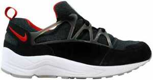 5791d4cba44c Nike Air Huarache Light Black University Red-Wolf Grey 306127-006 ...