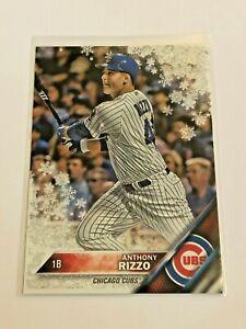 2016-Topps-Walmart-Holiday-Baseball-Metallic-Anthony-Rizzo-Chicago-Cubs