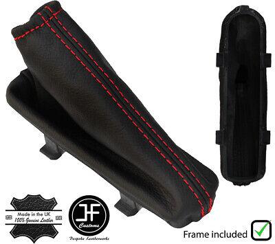 FITS FORD FIESTA MK7 08 GEAR GAITER red stitching