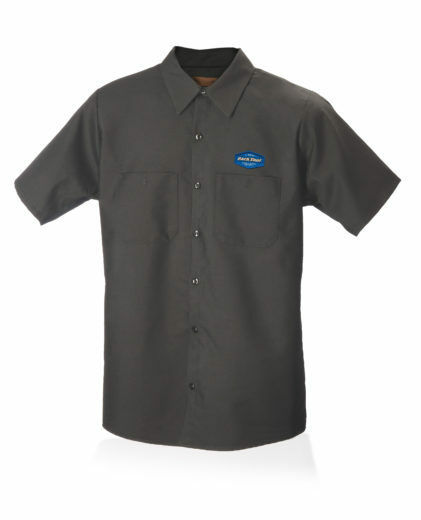 Park Tool MS-1.2 Mechanic Shirt, Charcoal