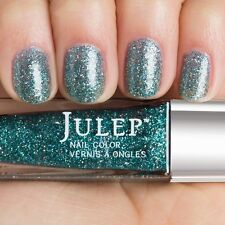 NEW! Julep nail polish TARYN Nail Vernis ~ Deep Sea Teal Holographic Glitter