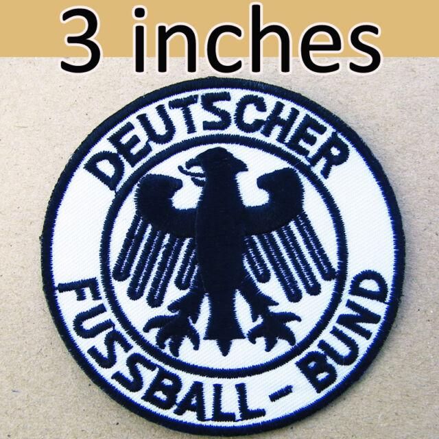 Deutscher Fussball Bund Classic World Cup Iron On Patch Germany