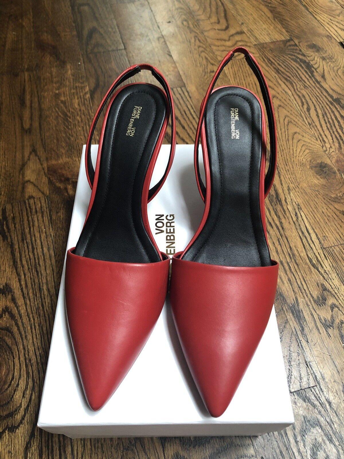 Diane Von Furstenberg Mortelle Heels 9.5 9.5 9.5 f212f0