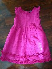 GIRLS Chaps DRESS SIZE 5 PINK PRETTY Party Dance Dressy Easter Free Shipping