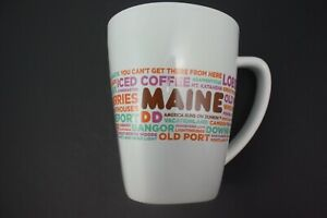 Dunkin' Donuts MAINE Destination Coffee Mug 2016 14 ounce Excellent Condition