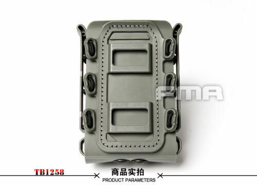 FMA Tactical Airsoft Soft Shell Scorpion 7.62 Fast Mag Pouch Mag Carrier TB1258