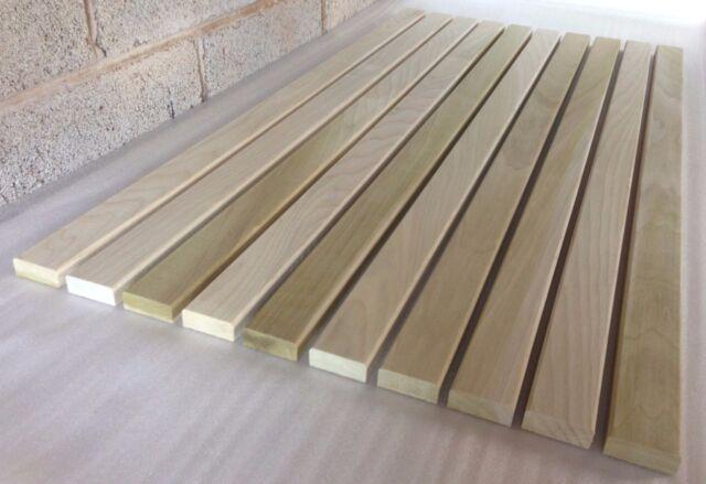 10 Hardwood Bench Slats 1.22m X 55mm X 21mm Garden Seat