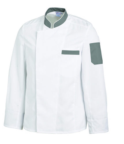 Leiber Herren Kochjacke Jacke Gastronomiekleidung Berufsbekleidung Bäckerjacke