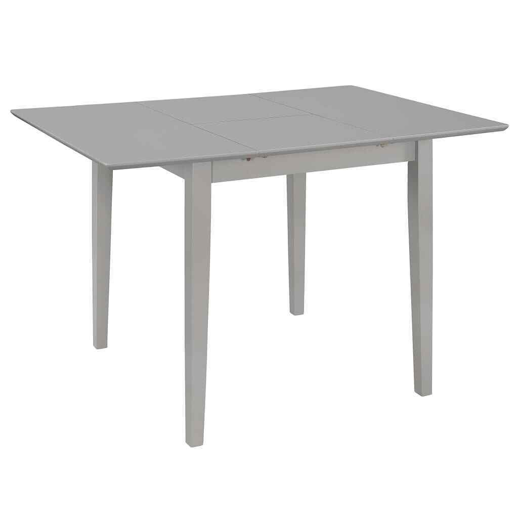 Vidaxl Extendable Dining Table White 80 120cm Mdf Square Kitchen Dinner Stand For Sale Ebay