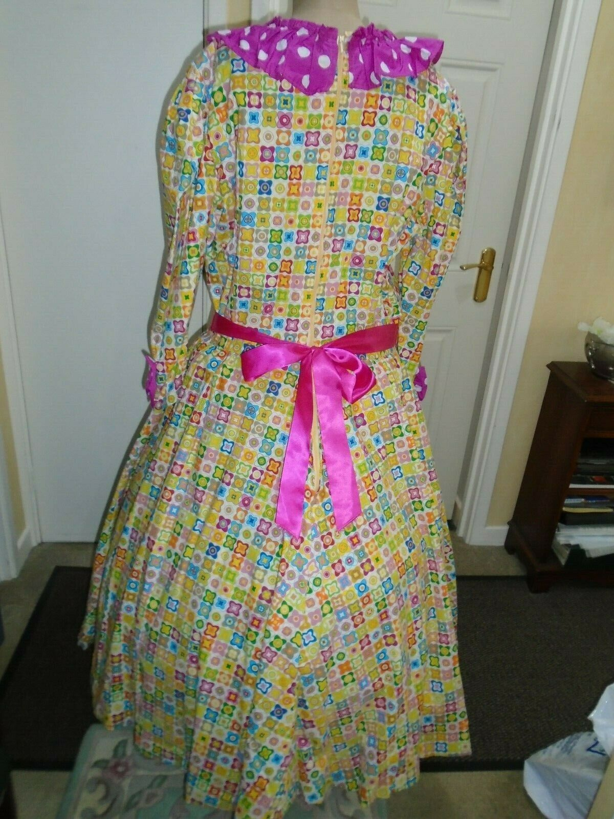 Dames Dress worker 52 inch bust pantomime large size tall man