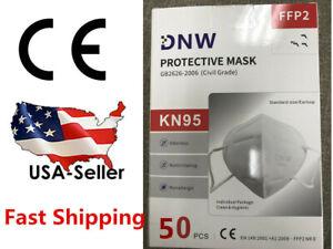 5/50PCS DNW KN95 FFP2 Face Mask Mouth Cover Disposable Masks Respirator