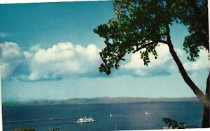Vintage Postcard - M.V. Adirondack Ferry Lake Champlain New York NY #4904