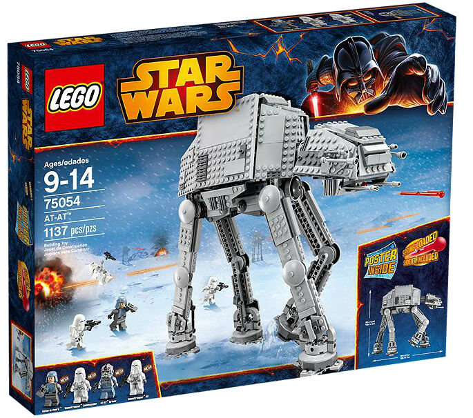 LEGO Star Star Star Wars 75054 AT-AT Walker MISB NEW RETIrot 199ba5