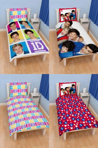One Direction Single Bettwäsche 140x200 Neon Mayhem Bettbezug Bettgarnitur 1D