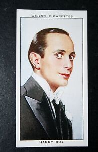 Harry-Roy-Dance-Band-Leader-Vintage-Card-VGC