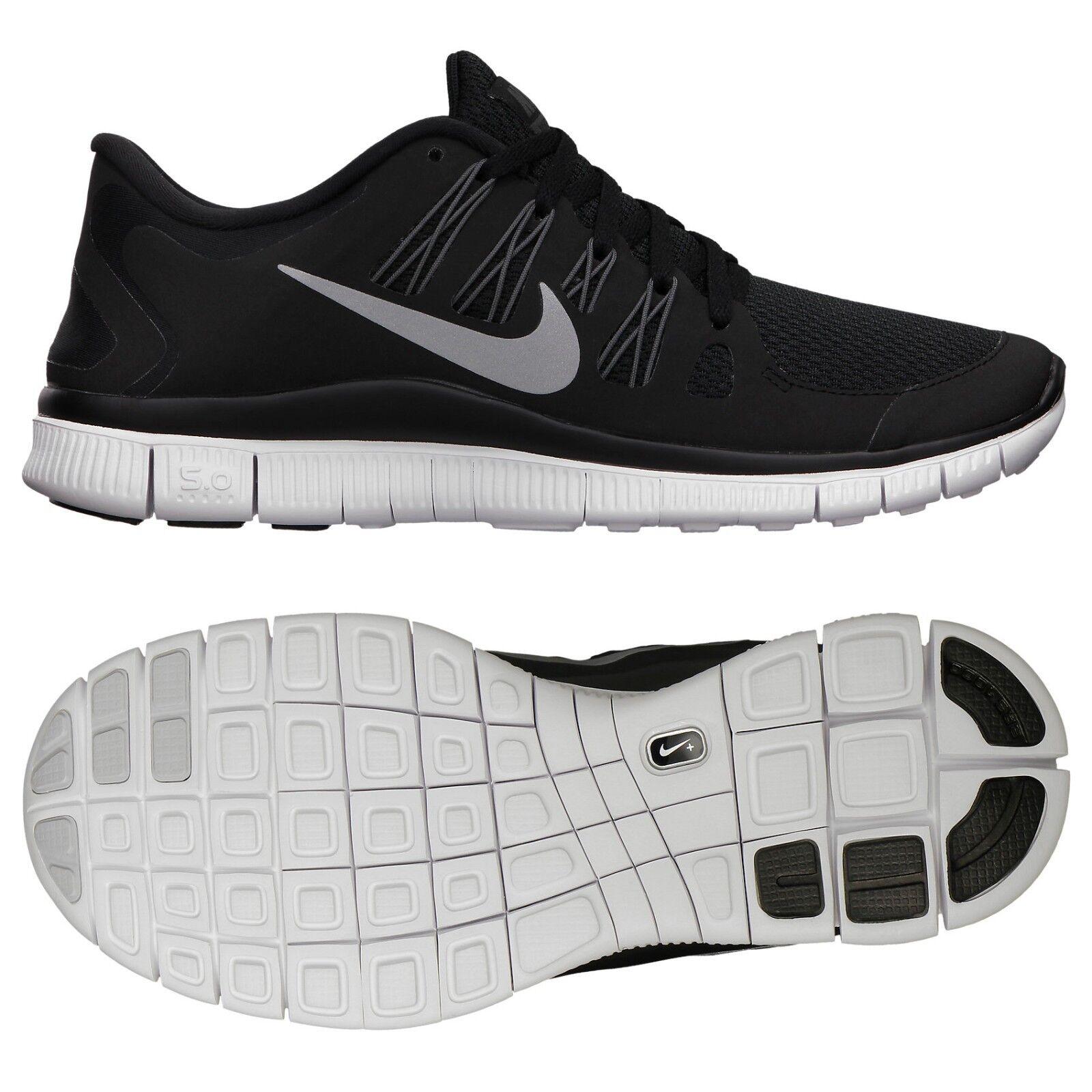 Nike Wmns Free 5.0+ 580591-002 Black Silver Dark Grey White Women Running shoes
