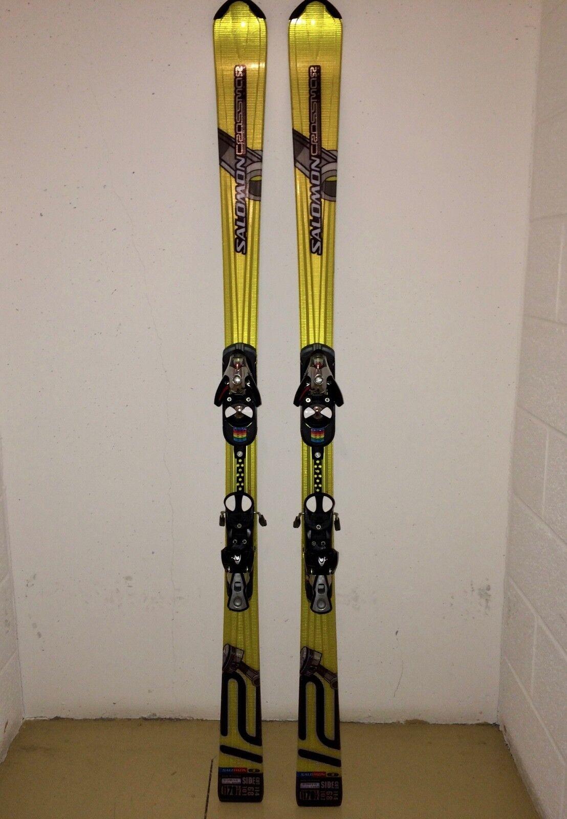 Salomon Crossmax V12 Skis - 2006 model - 170cm - Bindings Included