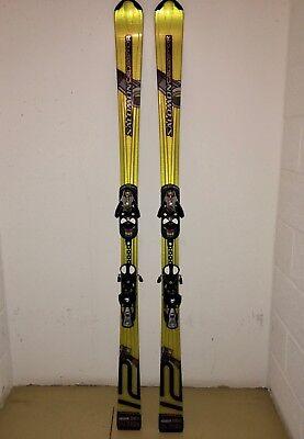 Salomon Crossmax V12 Ski Modell 2006 170cm Bindungen enthalten | eBay