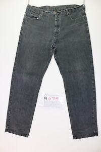 Lee-Boyfriend-Cod-N675-tg-52-W38-L34-vaqueros-usados-Vintage-Streetwear-negro