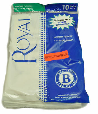 Royal Type B Upright Vacuum Cleaner Bags 2 066247 001