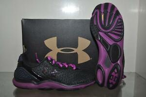 Details about Under Armour Womens Microg Sting TR Nitebrite Purple/Black  1258357-016 NIB