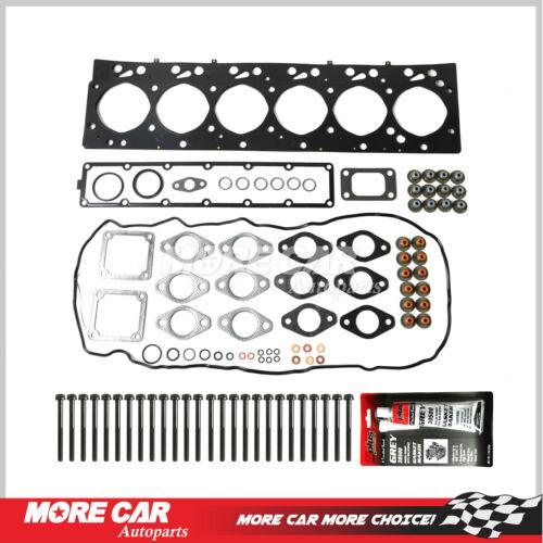 Head Gasket Bolts Set fit 03-09 Dodge Ram 2500 3500 Turbo Diesel 5.9L L6
