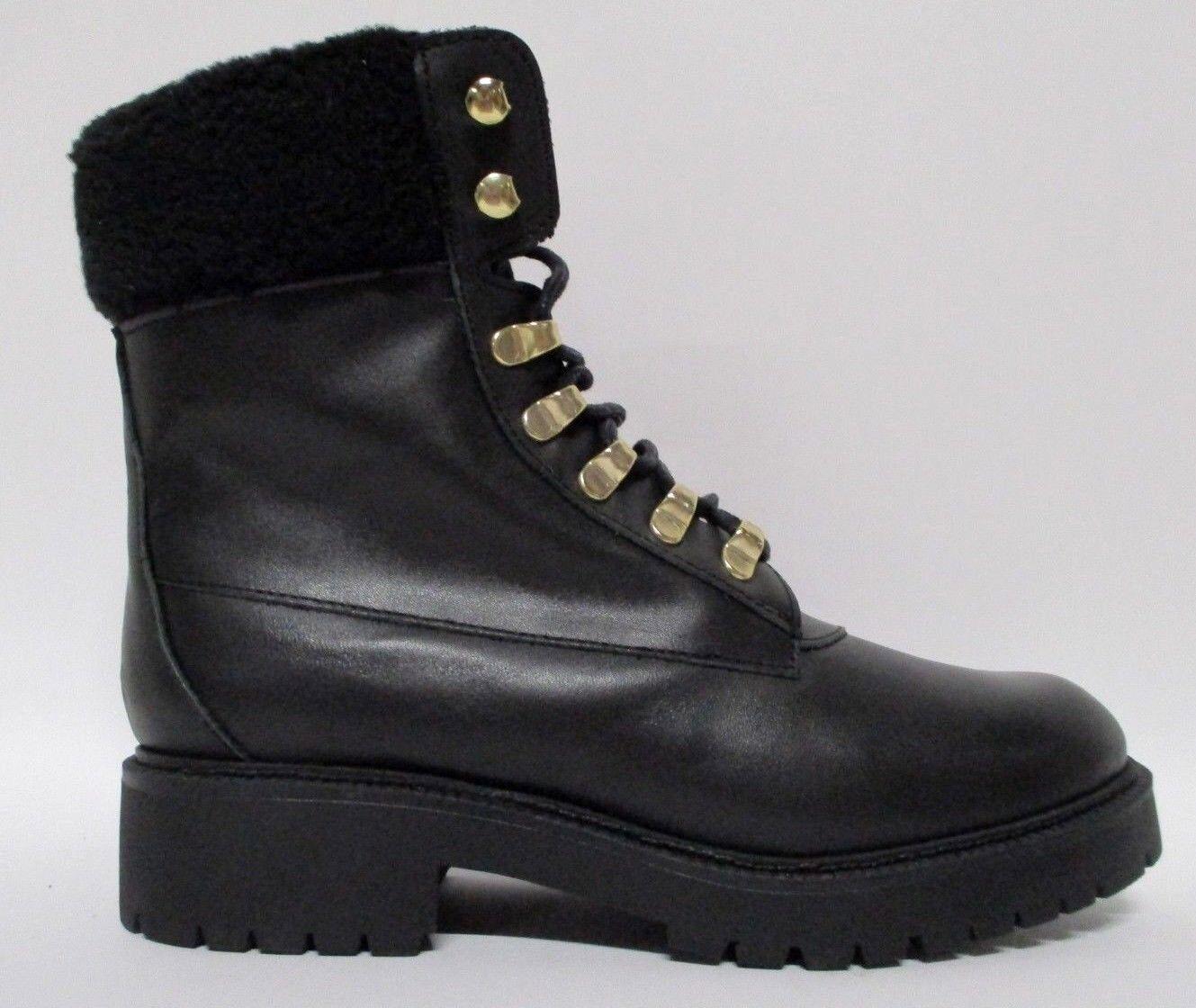 Zign bota botas ata cuero negro Gr. 39 c50