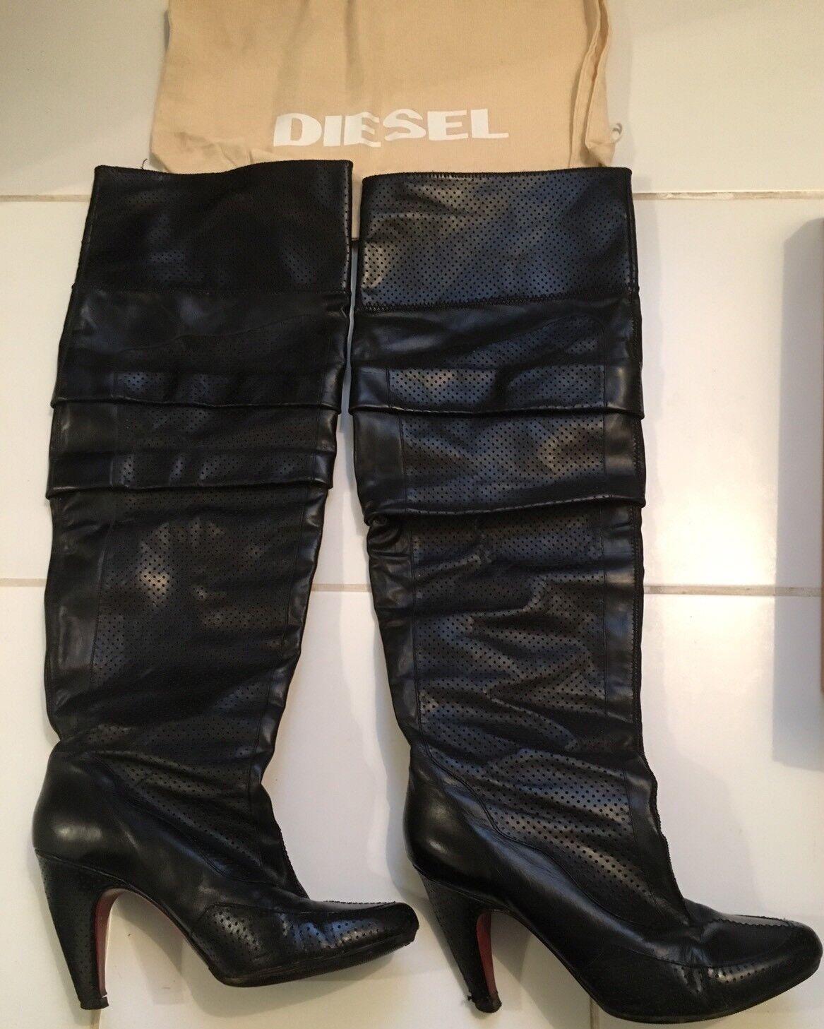 Bottes Diesel Noires Taille 39