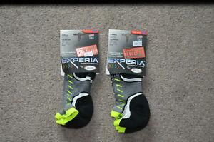 RRP 12.50 GBP White Thorlos Experia Ultra Light Running Socks