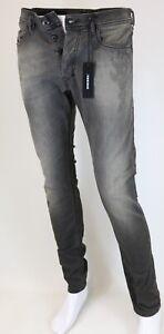 Diesel-Tepphar-Wash-0674u-Stretch-Jeans-Hommes-Pantalon-Pants-Slim-carrot-au-choix