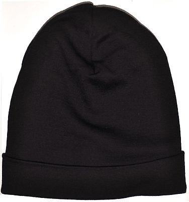 Men Women100% Merino Wool Cap Beanie Hat Sports Athletic Thermals Winter Warm
