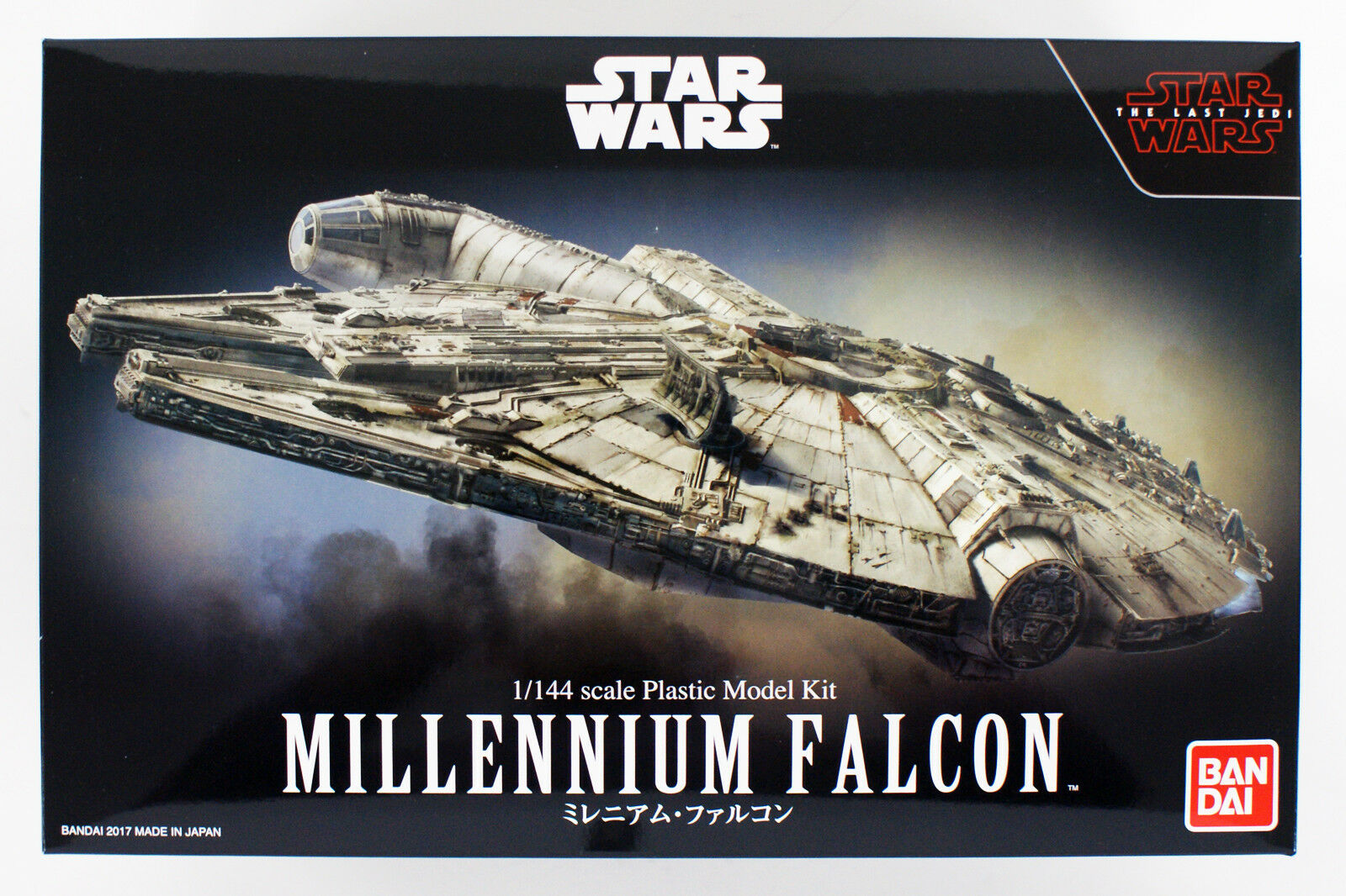 Bandai Star Wars The Last Jedi Millennium Falcon 1 144 kit 197706