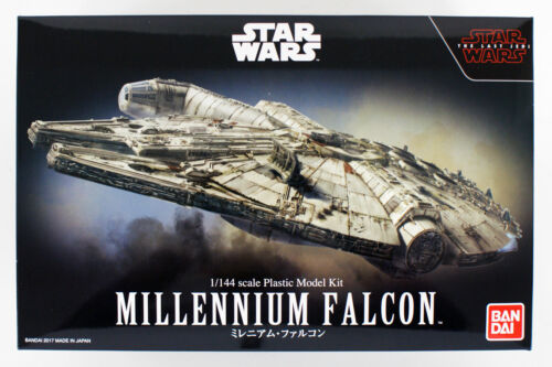 Bandai Star Wars The Last Jedi Millennium Falcon 1//144 kit 197706