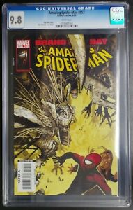 Amazing-Spider-Man-557-Marvel-Comics-CGC-9-8-White-Pages