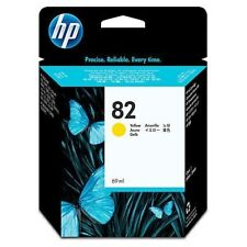 ORIGINAL & SEALED HP82 / C4913A YELLOW INK CARTRIDGE - SWIFTLY POSTED