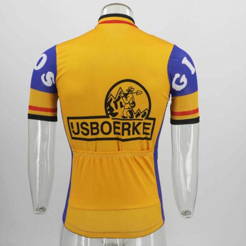 1979 ijsboerke Cycling Jersey mens team cycling Short Sleeve jersey