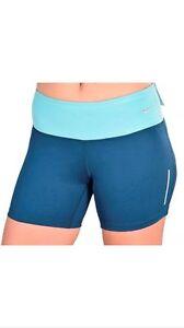 Run azulado Short Nwt Nike verde teal 5 Nwt Tight 5 Fit Blue Tight Epic Epic 3 Fit Azul Run 3 Nike Short xXAF68wX