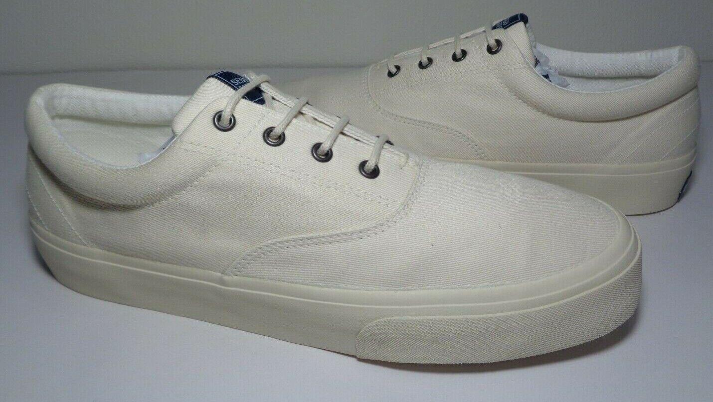 Sebago Size 6 M JOHN Ecru Beige Canvas Sneakers New Women's Shoes