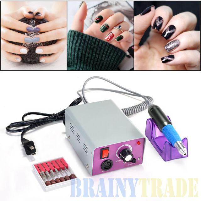 Professional Electric Drill File Nail Manicure Tool Pedicure Machine ...