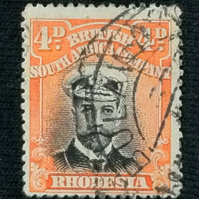 Rhodesia  SC #125  Used  1913